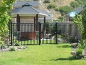 Iron Fence 24