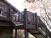Hoop Rail Stairs