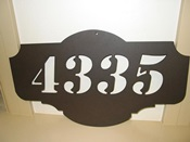 Address Plate