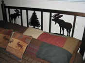 Iron Moose Headboard