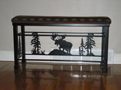 Iron Moose Bench