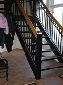 Custom Interior Stairs & Rail