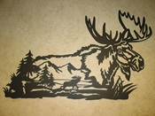 Moose Wall Hanging