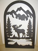 Moose Tombstone Vent Cover